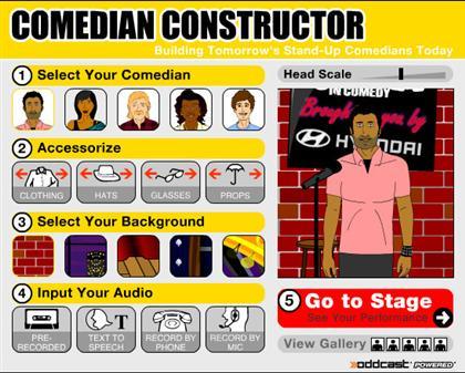 Virtual Comedian Constructor