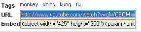 YouTube URL Copy