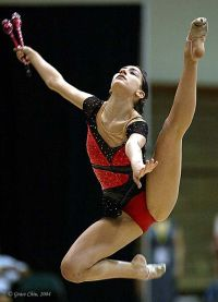 Alexandra Orlando Jumping