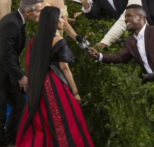 NEW YORK NY - MAY 01 2017: Nicki Minaj attends the 'Rei Kawakubo/Comme des Garcons: Art Of The In-Between' Costume Institute Gala at Metropolitan Museum of Art