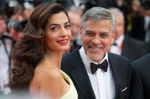 George Clooney, Amal Clooney  at the Money Monster Premiere at t