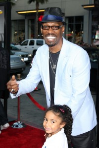 """LOS ANGELES - AUG 12: Charlie Murphy arrives at the """"Lottery Ticket"""" World Premiere at Grauman's Chinese Theater on August 12"""