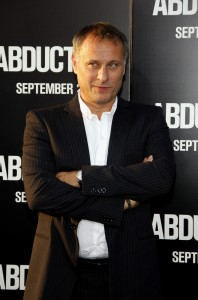 Michael Nyqvist at the Los Angeles premiere of 'Abduction' held