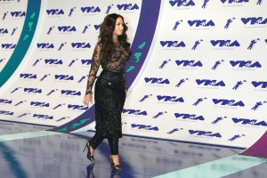 LOS ANGELES - AUG 27: Demi Lovato at the MTV Video Music Awards 2017 at The Forum on August 27, 2017 in Inglewood, CA