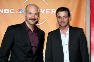 LOS ANGELES - JUL 30:  Corey Stoll & Skeet Ulrich arrive at the
