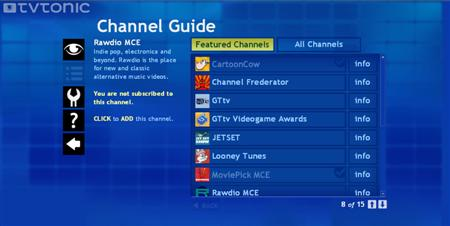TV Tonic Channel Guide